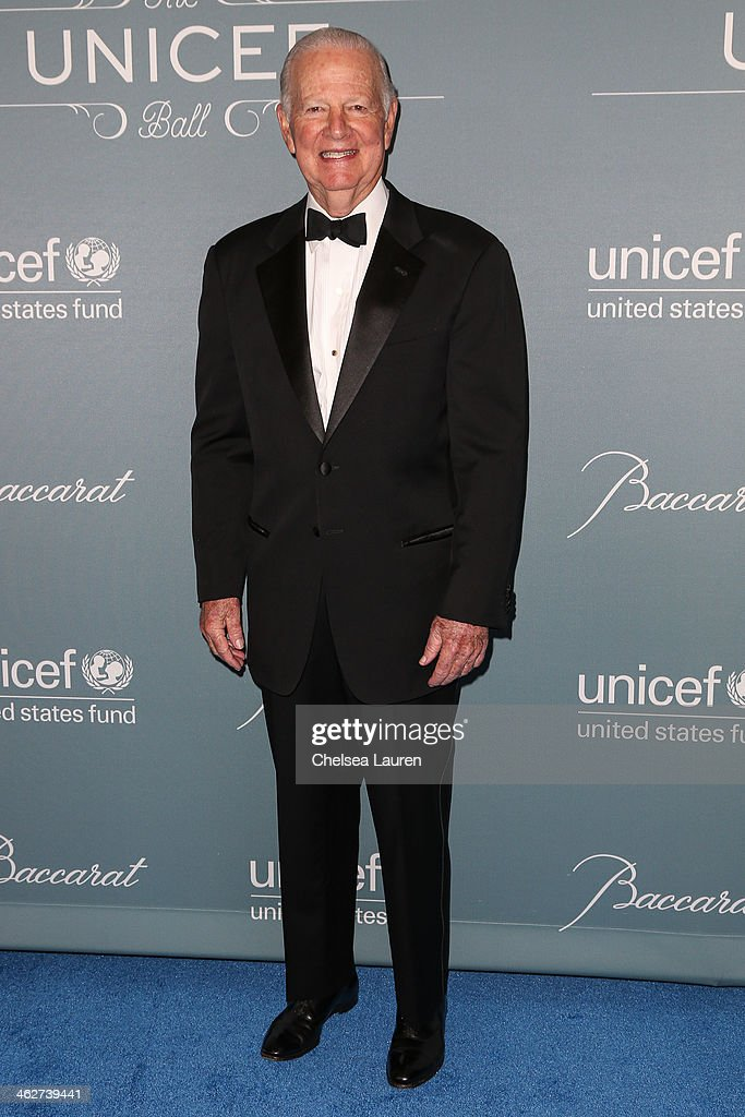 Former White House chief of staff James A. Baker III arrives at the 2014 UNICEF Ball presented by Baccarat at Regent Beverly Wilshire Hotel on January 14, 2014 in Beverly Hills, California.