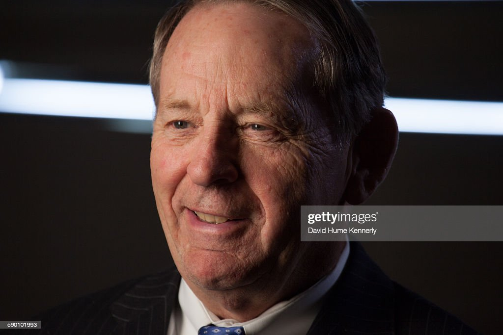 Former White House Chief of Staff Sam Skinner is interviewed by Chris Whipple for 'The President' Gatekeepers' project at The Madison Hotel August 10...