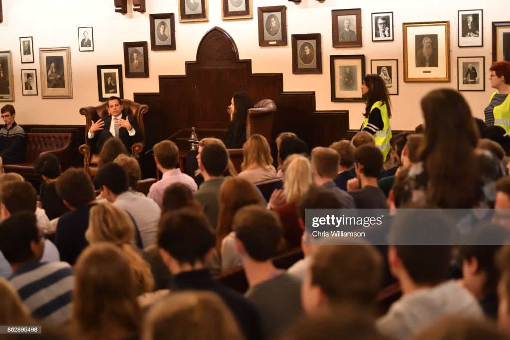 The Cambridge Union Hosts Anthony Scaramucci