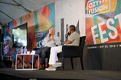 Former White House Deputy Chief of Staff Karl Rove and Carlos Watson attend OZY Fusion Fest 2016 at Rumsey Playfield in Central Park on July 23 2016...