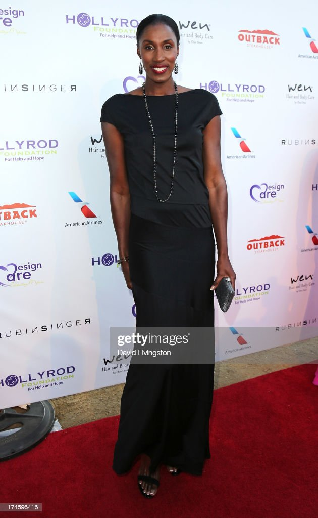 Former WNBA player <a gi-track='captionPersonalityLinkClicked' href=/galleries/search?phrase=Lisa+Leslie&family=editorial&specificpeople=202228 ng-click='$event.stopPropagation()'>Lisa Leslie</a> attends the 15th Annual DesignCare on July 27, 2013 in Malibu, California.
