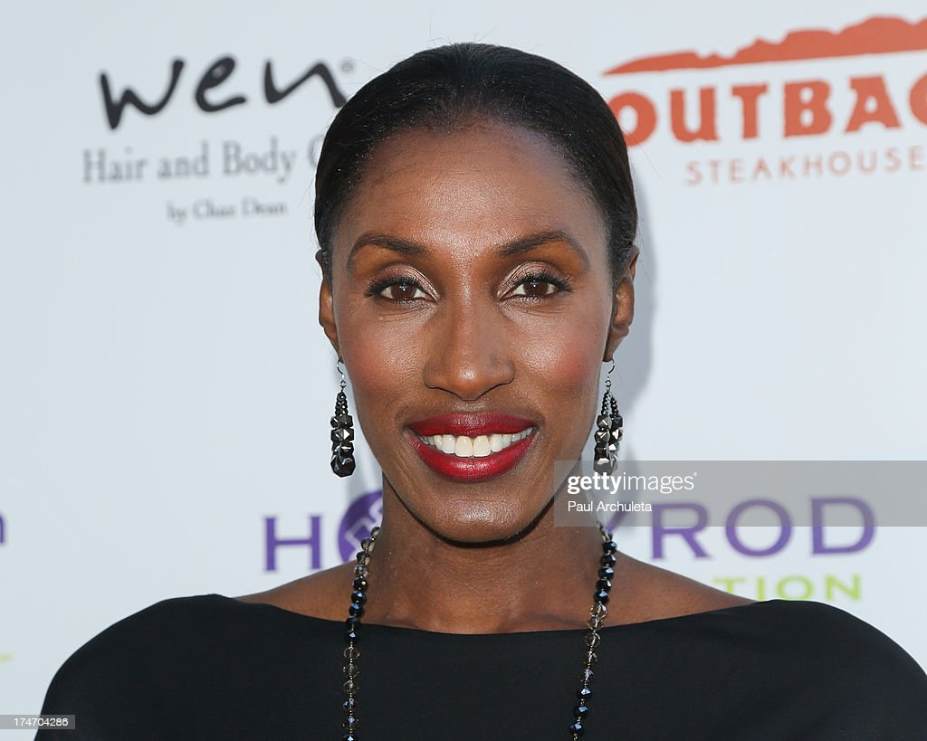 Former WNBS Player Lisa Leslie attends the 15th annual DesignCare charity event on July 27, 2013 in Malibu, California.