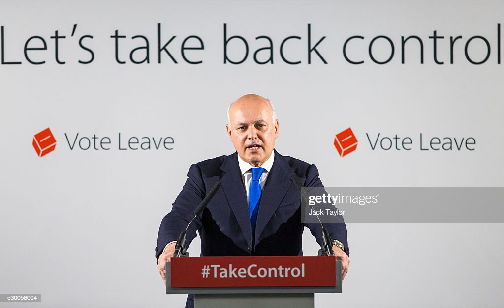 Iain Duncan Smith Speaks On How The EU Has Become A Force For Social Injustice