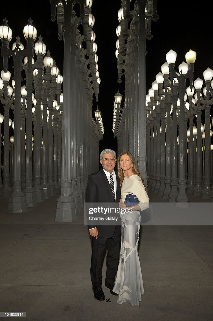 Former Yahoo! CEO Terry Semel and Jane Semel attend LACMA 2012 Art + Film Gala Honoring Ed Ruscha and Stanley Kubrick presented by Gucci at LACMA on October 27, 2012 in Los Angeles, California.
