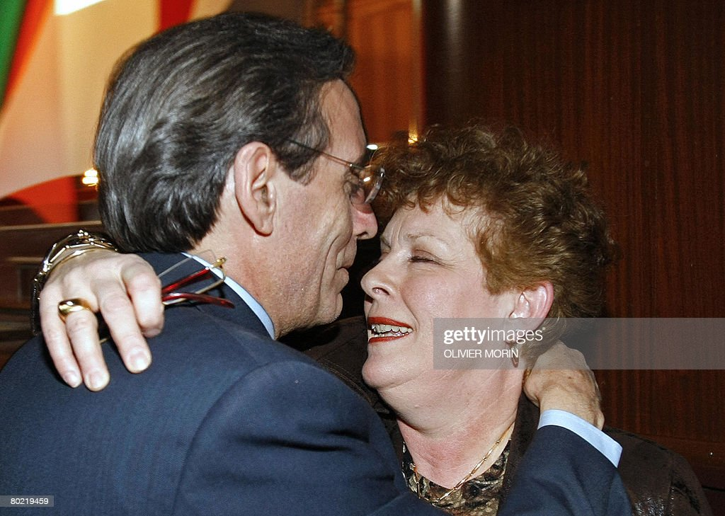 Catherine Hug formers mayors of strasbourg roland ries pictures getty images