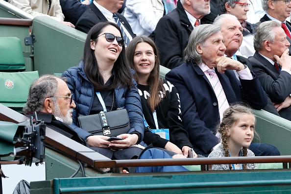Photo of Ilie Nastase & his  Daughter  Alessia Năstase