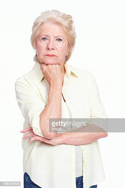 Formidable elderly woman