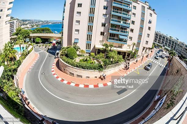 Formula 1 Grand Prix race track in Monaco