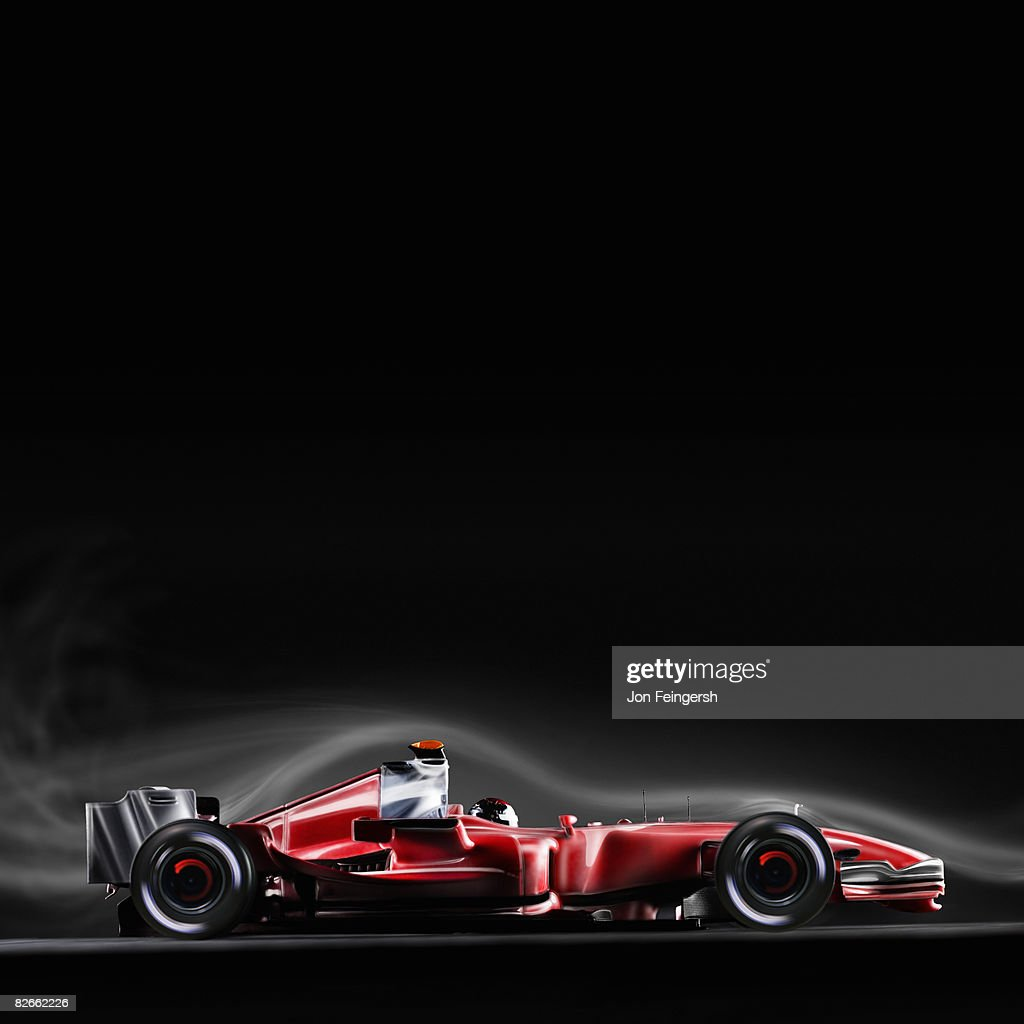 Formula 1 Race Car Air-stream