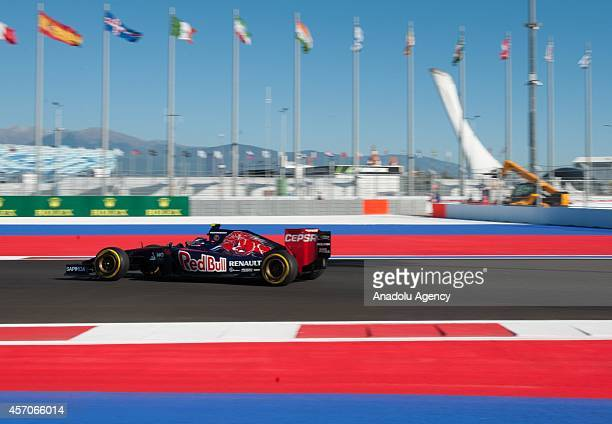 Formula 1 Russian Grand Prix qualifying session is held in Sochi Russia on October 11 2014