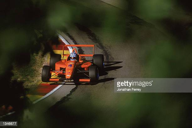 Formula Atlantic driver Rocky Moran Jr drives one of the identical Reynard Dodge V6s during the Toyota Atlantic Championship Round 10 for the...