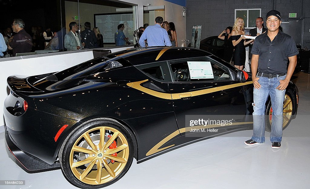 Formula D Driver Jhonnattan Castro attends the opening of AutoConcierge on October 4, 2012 in Los Angeles, California.