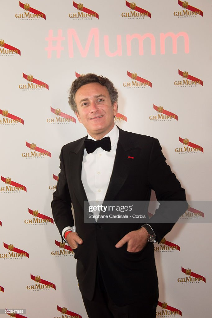 Formula E CEO <a gi-track='captionPersonalityLinkClicked' href=/galleries/search?phrase=Alejandro+Agag&family=editorial&specificpeople=2910760 ng-click='$event.stopPropagation()'>Alejandro Agag</a> attends the Mumm Grand Cordon Party At The YoYo Club after the 2016 FIA Formula E Championship - Paris E Prix, on April 23, 2016 in Paris, France.