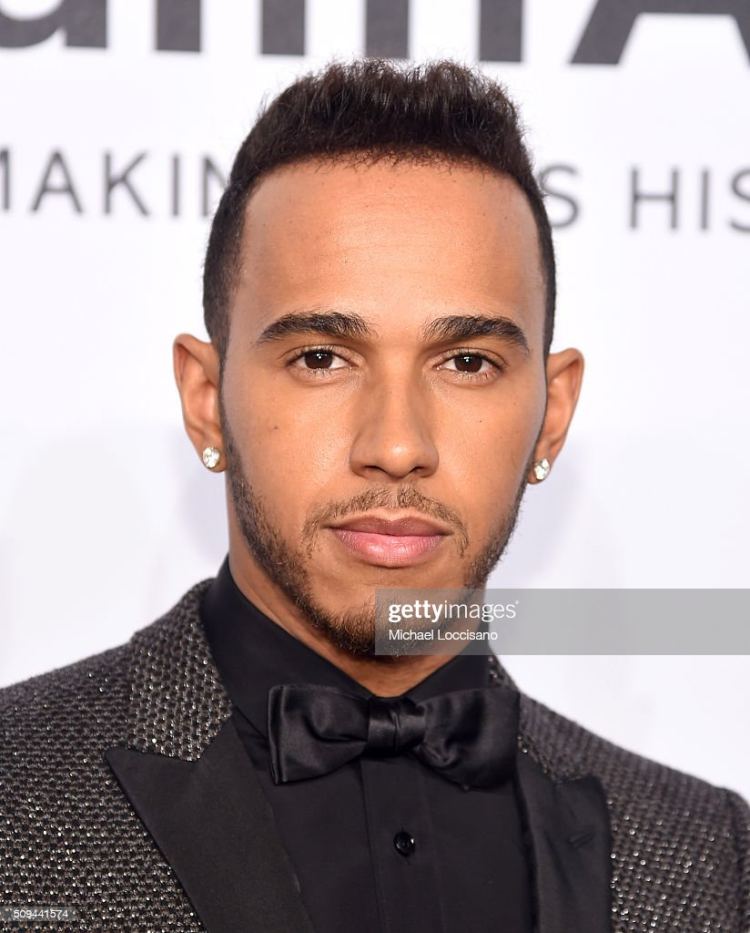 Formula One driver <a gi-track='captionPersonalityLinkClicked' href=/galleries/search?phrase=Lewis+Hamilton&family=editorial&specificpeople=586983 ng-click='$event.stopPropagation()'>Lewis Hamilton</a> attends 2016 amfAR New York Gala at Cipriani Wall Street on February 10, 2016 in New York City.