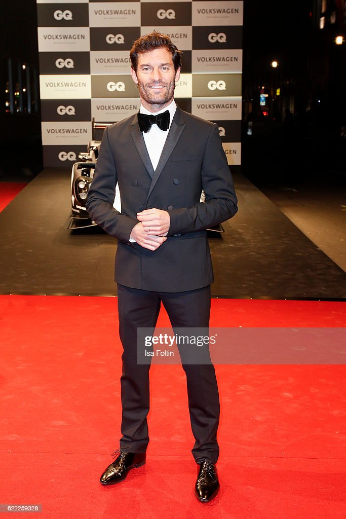 Formula one racer Mark Webber attends the GQ Men of the year Award 2016 (german: GQ Maenner des Jahres 2016) at Komische Oper on November 10, 2016 in Berlin, Germany.