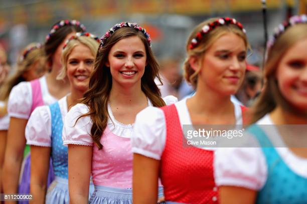 Formula Unas before the Formula One Grand Prix of Austria at Red Bull Ring on July 9 2017 in Spielberg Austria