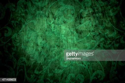 Forrest Green Victorian Background