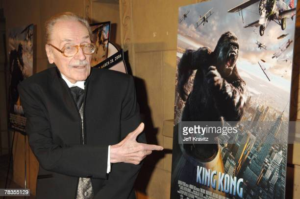 Forrest J Ackerman editor of 'Famous Monsters of Filmland' magazine Coinciding with the March 28 2006 DVD release of 'King Kong' Universal Studios...