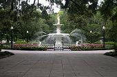 Forsyth Park Fountian found in Savannah Georgia