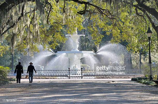 Parc Forsythe, Savannah, en Géorgie