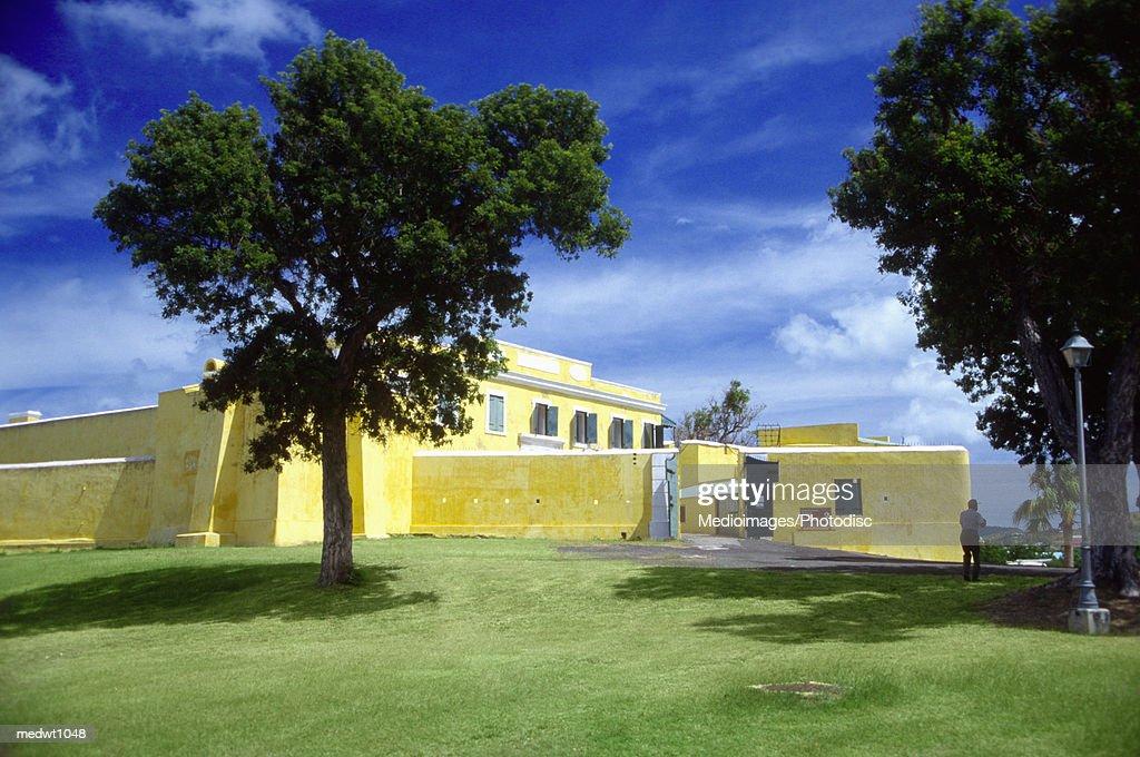 Fort Christiansvaem in Christiansted, St. Croix, U.S. Virgin Islands, Caribbean : Stock Photo