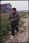 Fort George Quebec Canada Cree At Fort George The James Bay Project began in 1973 It involves damming several rivers and flooding territory which is...