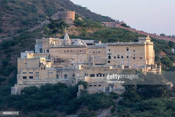 A fort in the hills near the Amer Fort a Jaipur's main landmark Amer was built by Raja Man Singh I and open in the late 1590s