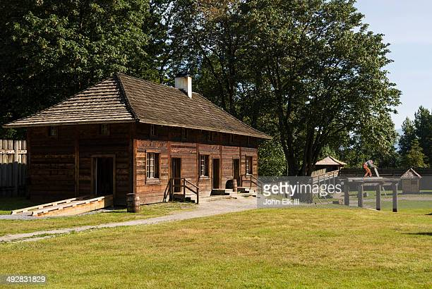 Fort Langley National Historic Site, Palisade