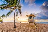 Fort Lauderdale Beach, Florida, USA.