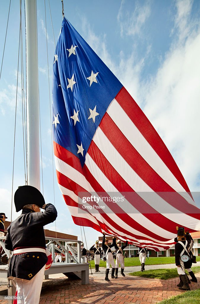 Fort McHenry National Monument and Historic Shrine : Stock Photo
