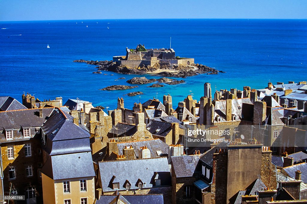 'Fort National' in Saint-Malo, France