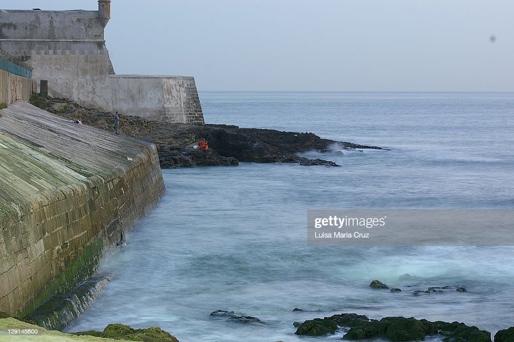 Fort of St. Julian of Barra : Stock Photo