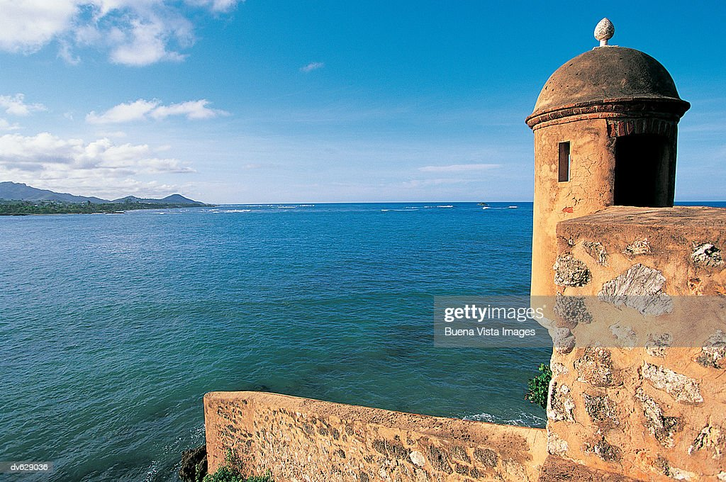 Fort, Puerto Plata, Dominican Republic, West Indies : Stock Photo