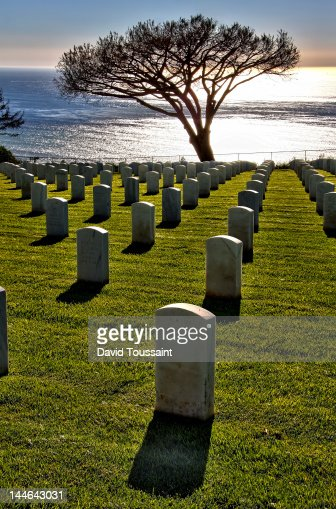 Fort Rosecrans National Cemetery : Stock Photo