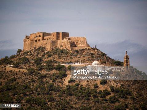 Fort Santa Cruz, Oran : Stock Photo