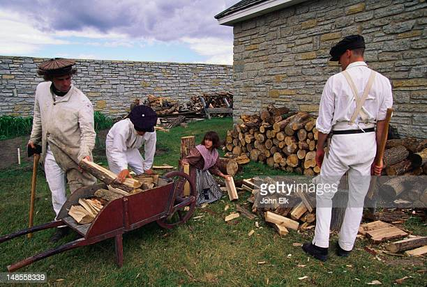 Fort Snelling is the state's oldest structure, established back in the early 19th century as a frontier outpost in the remote Northwest Territories - Minneapolis-St Paul, Minnesota