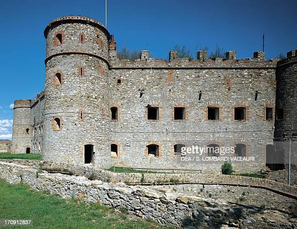 Fort Sperone east wing Monte Peralto Genoa Liguria Italy