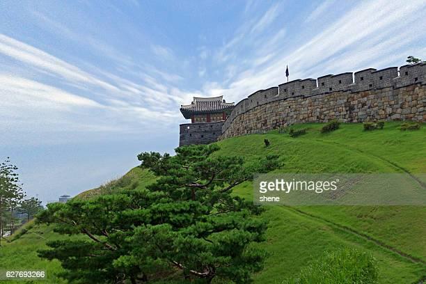 Fort Suwon in South Korea.