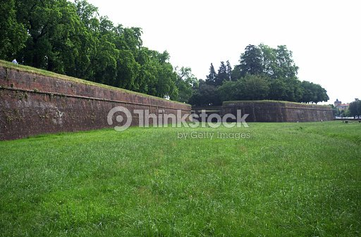 Fortifications of Lucca : Foto stock