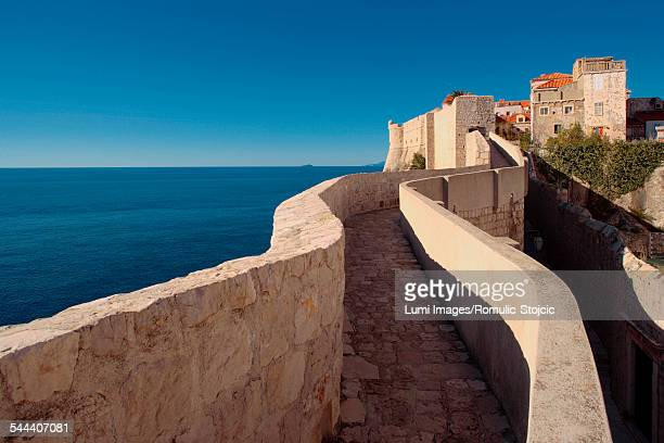 Fortified wall of Dubrovnik, Dalmatia, Croatia