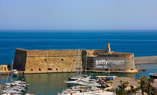 Fortress and inner harbor of Heraklion