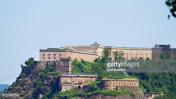 Festung von Koblenz im Sommer