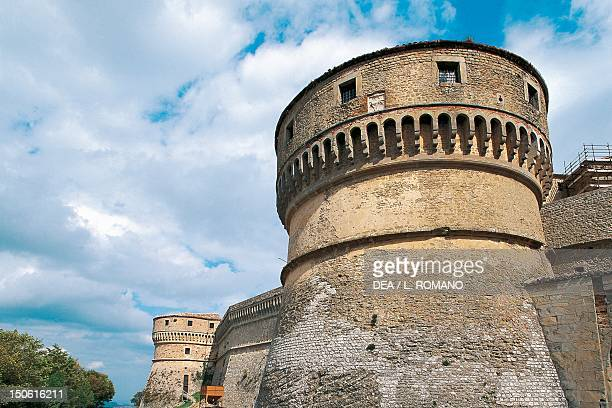 Fortress of San Leo's Tower Marche Italy 15th century