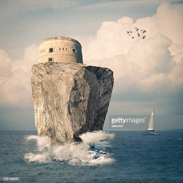 Fortress on the sea