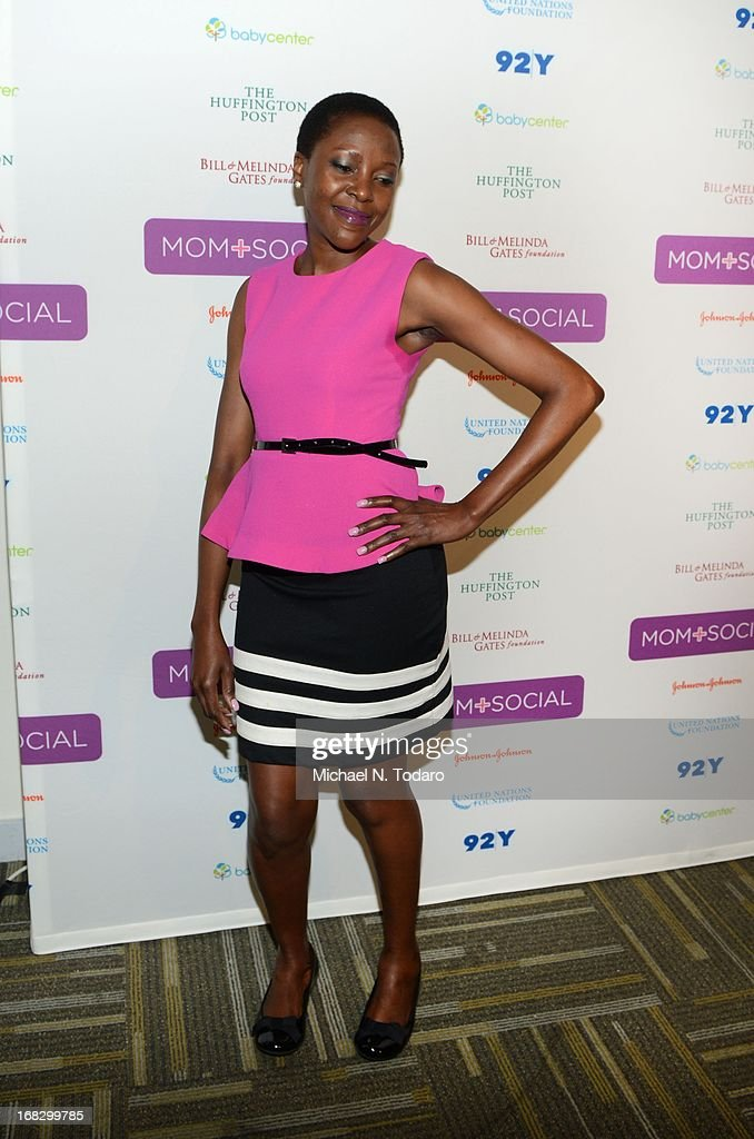 Fortunata Kasege attends the Mom + Social Event at 92Y Tribeca on May 8, 2013 in New York City.
