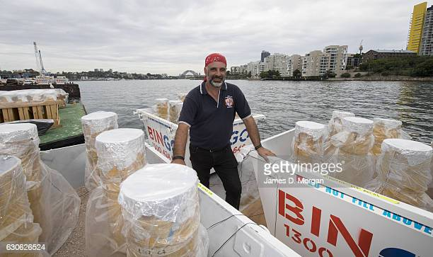 Fortunato Foti Sydney's NYE fireworks director from Foti Fireworks on December 29 2016 in Sydney Australia Sydney's New Year's Eve fireworks displays...