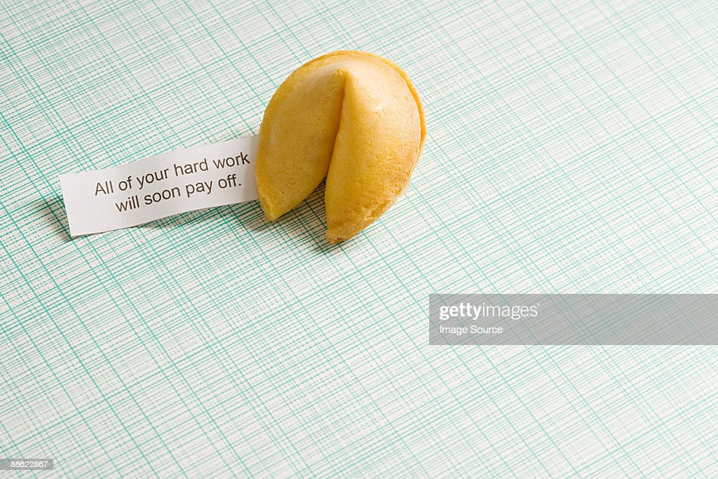 Fortune cookie : Stock Photo