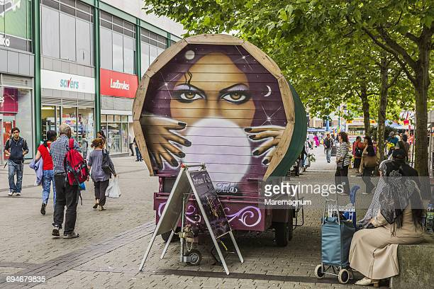 Fortune teller in Edgbaston street