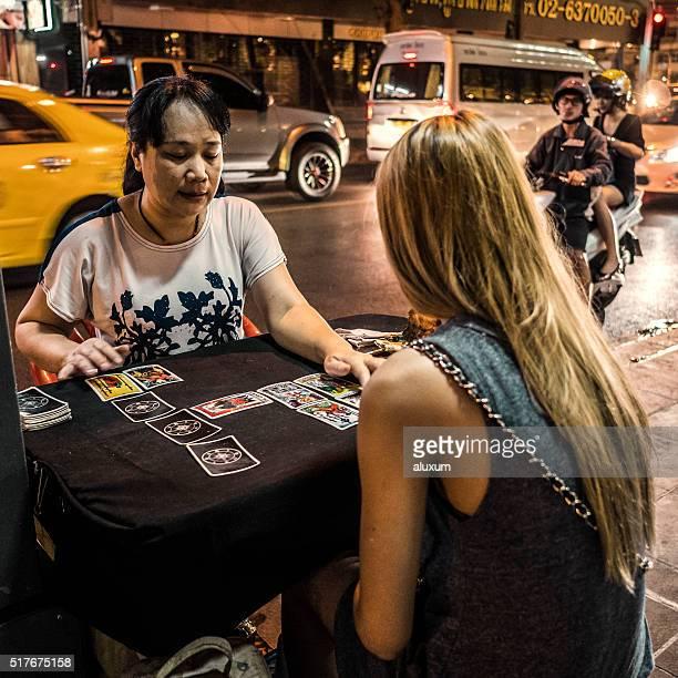 Fortune teller Patpong Bangkok Thailand