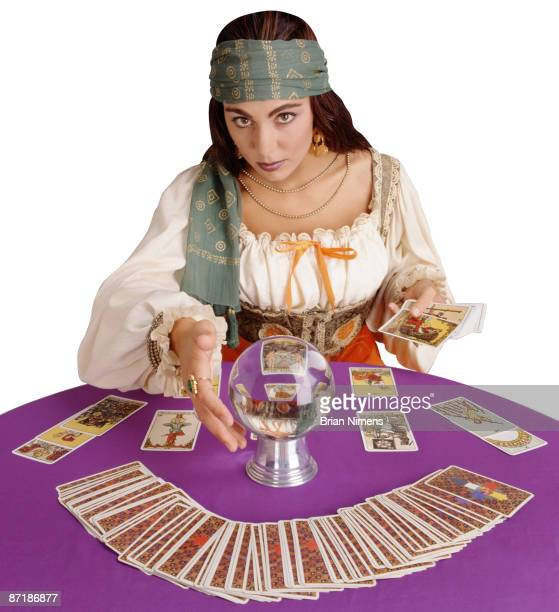Fortune Teller (Clipping Paths Included)